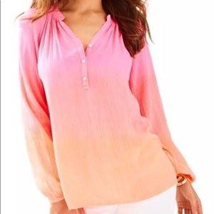 Elsa Ombré shirt xxs